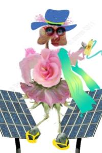 Rosie Promos Solar Power