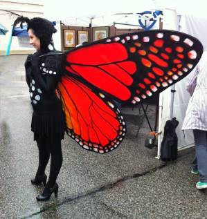 Cool Live Living Sculpture Butterfly
